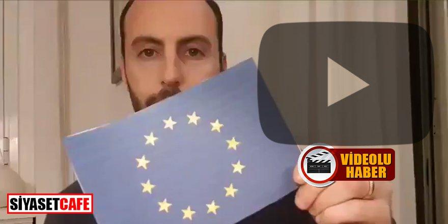 'Korona mücadelesinde yalnız bırakıldık' diyen İtalyanlar AB Bayrağı yakıyor