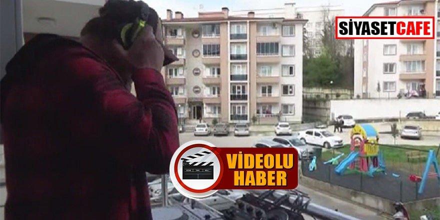 DJ gençlere balkondan konser verdi