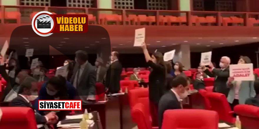 Meclis'te PKK'ya af isteyen HDP'ye CHP'de destek verdi