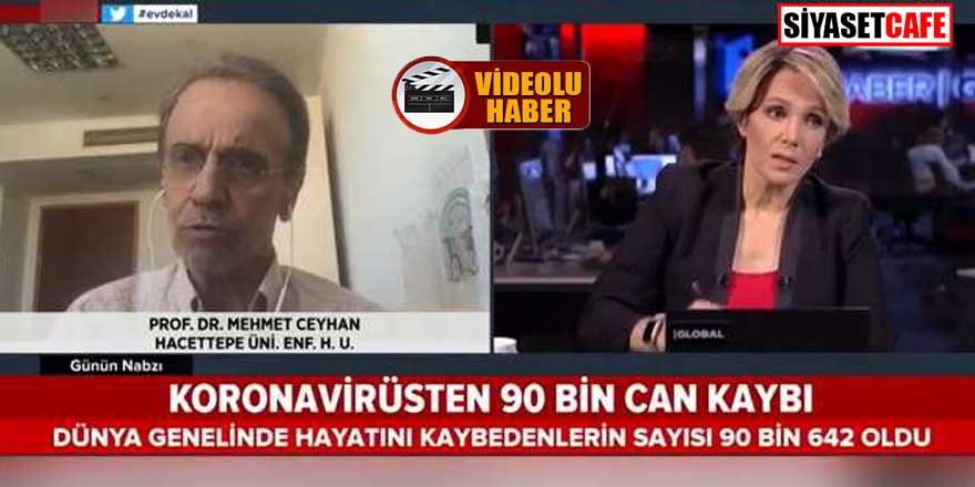 Prof. Dr. Mehmet Ceyhan'dan korona uyarısı: Vaka sayısı ikiye çıkar!