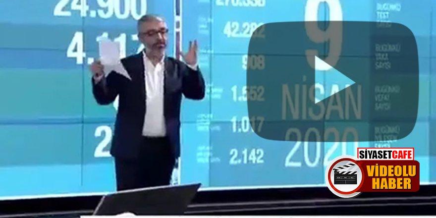 Sunucu Erem Şentürk'ü yayında elektrik çarptı!