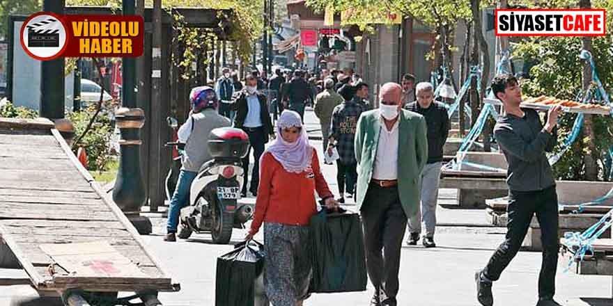 """Diyarbakır'dan korkutan görüntüler! """"Bizim koronaya bağışıklığımız var"""""""
