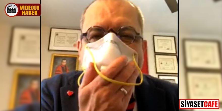 Prof. Dr. Mehmet Çilingiroğlu'ndan skandal açıklama: Maskeyle sevişin