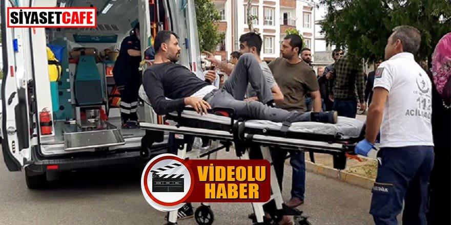 Husumetli iki grup karşılaştı: 3 yaralı!