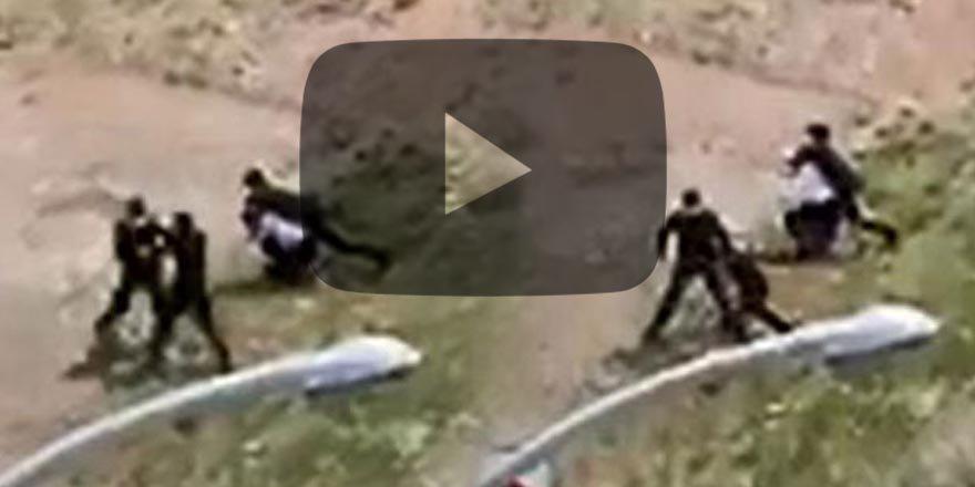 Kardeşler polise insafsızca saldırdı; Böyle rezalet olmaz!