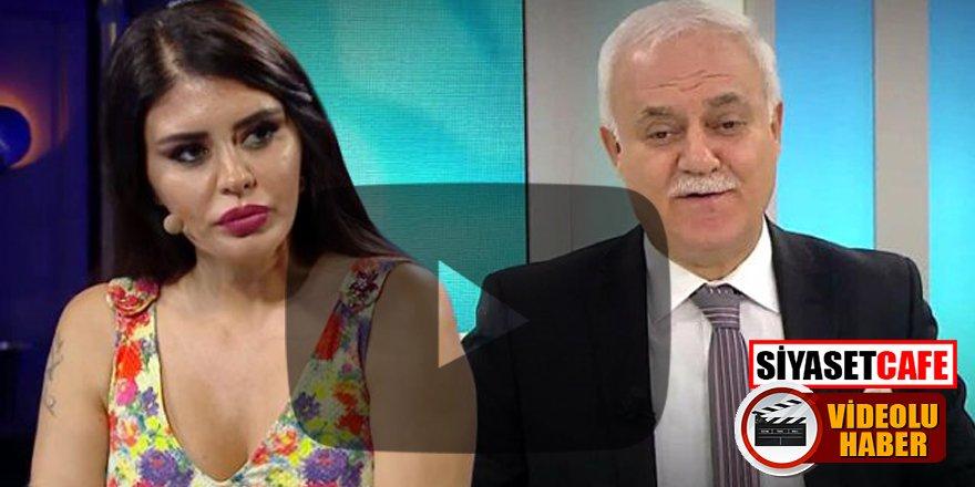 Ebru Polat, sorduğu soruyla Nihat Hatipoğlu'ndan tam not aldı