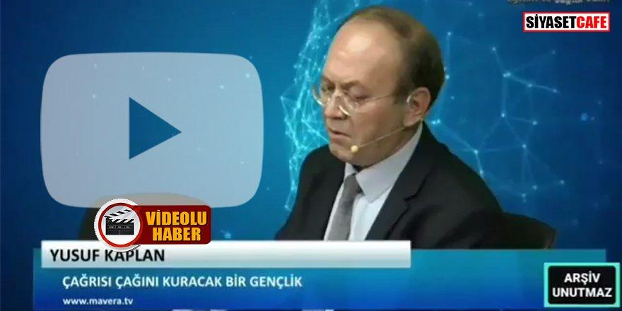 Yusuf Kaplan, Milli Eğitim Bakanı Ziya Selçuk'u tehdit etti: 'Saldıracam, duman edecem'