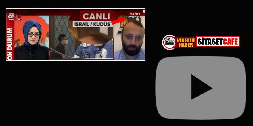 A Haber'den skandal yayın: Kudüs'ü İsrail'in başkenti gösterdiler!