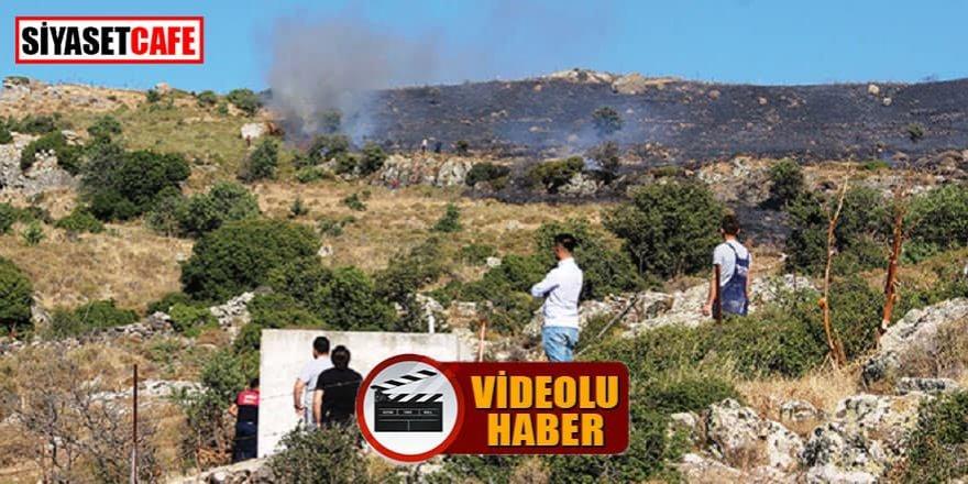 Bodrum'da 10 hektarlık alan yandı