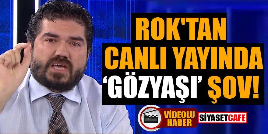 ROK'tan canlı yayında  'gözyaşı' şov!