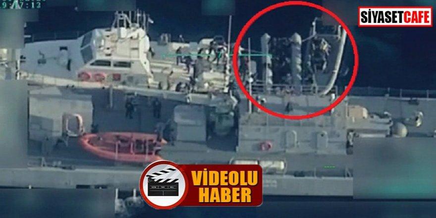 Mültecilerin yardımına Türk Deniz Kuvvetleri yetişti
