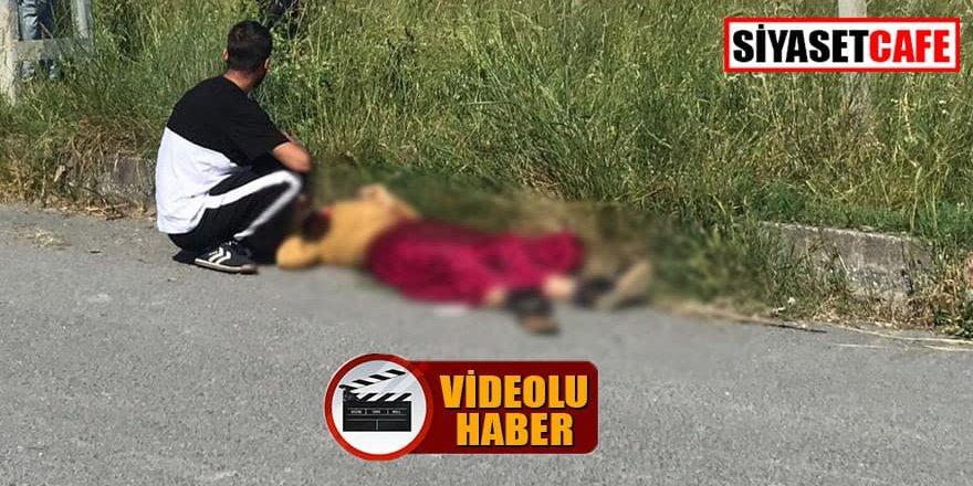 Güpegündüz karısını öldürdü, sosyal medya ayakta