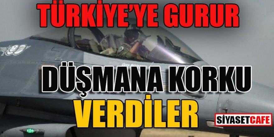 Türkiye'ye gurur, düşmana korku verdiler