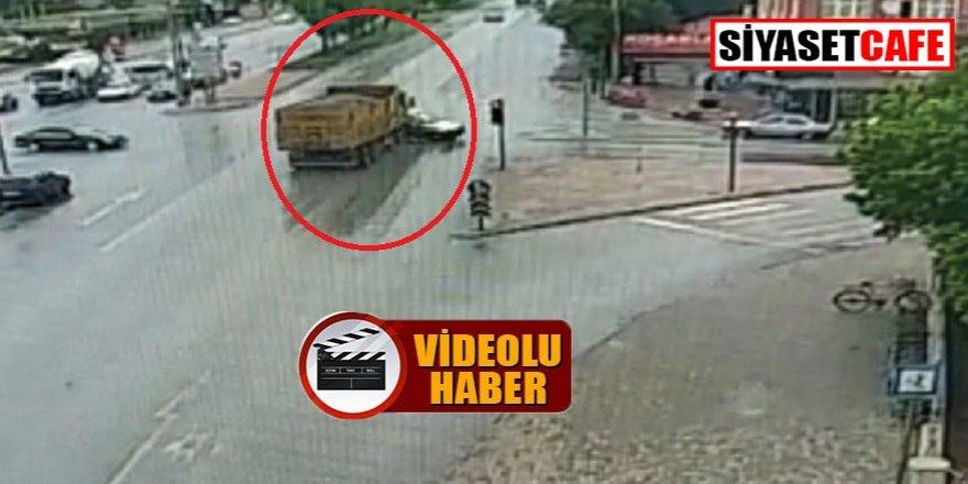 Konya'daki feci kazada bir anne ile kızı hayatını kaybetti