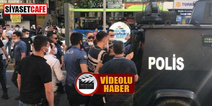 Diyarbakır'da iki grup birbirine girdi: 2 yaralı!