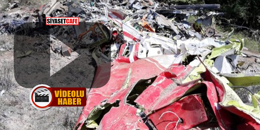 Ankara'da 'Hürkuş' isimli eğitim uçağı düştü!