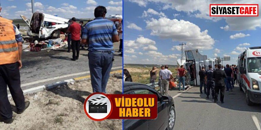 Konya'da tarım işçileri kaza yaptı: 6 ölü, 12 yaralı!