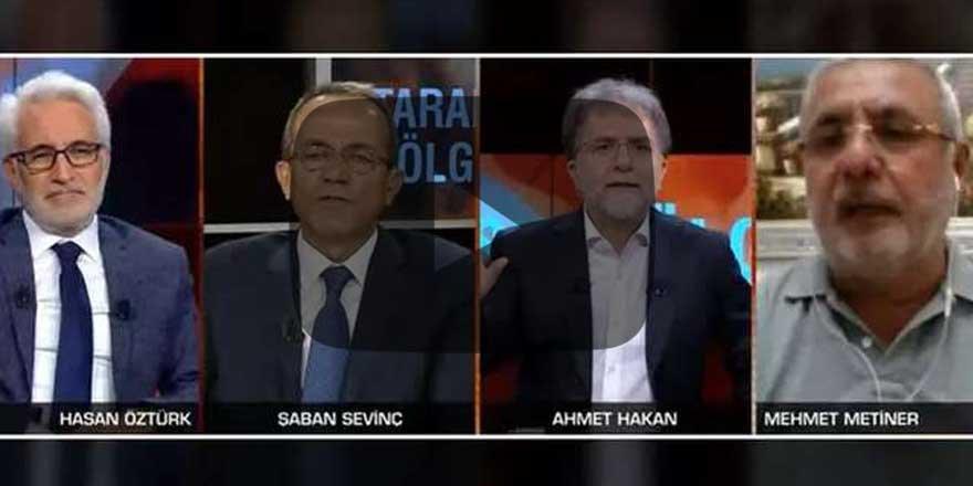 CNN Türk'te geceye damga vuran sosyal medya tartışması!