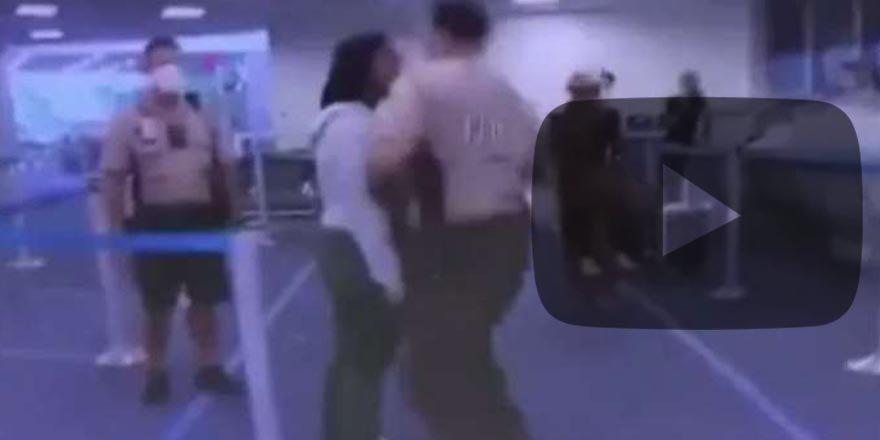 ABD'de yine ırkçı saldırı! Polis siyahi kadına yumruk attı