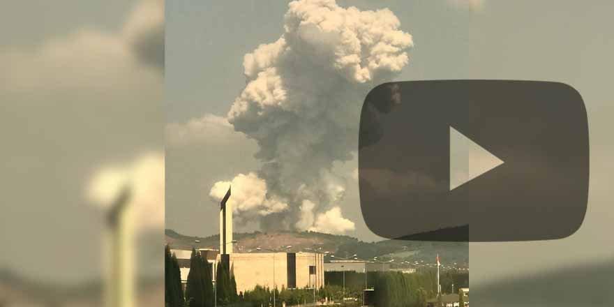 Son dakika! Havai fişek fabrikasında çok şiddetli patlama