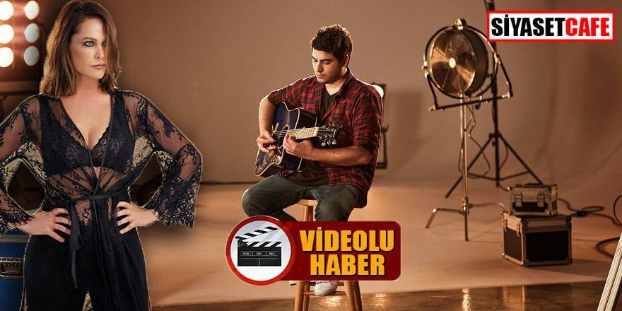 Hülya Avşar genç şarkıcının klibinde oynadı