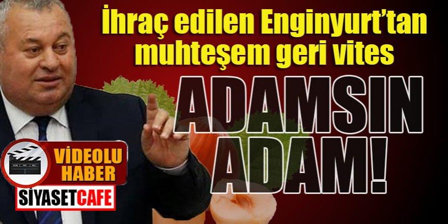İhraç Edilen Enginyurt'tan muhteşem geri vites: Adamsın Adam!