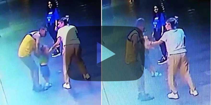 Antalya'da bir kişi 2,5 yaşındaki çocuğu kaçırmaya çalıştı! İşte o anlar...