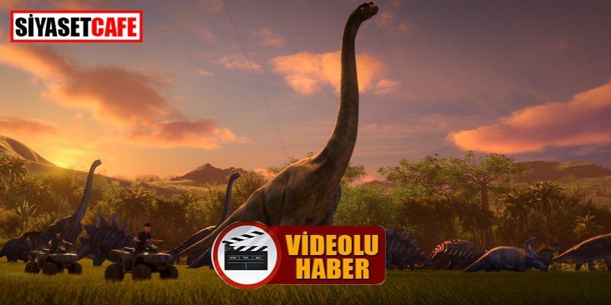 Netflix'den Jurassic World Kretase Kampı için özel tanıtım