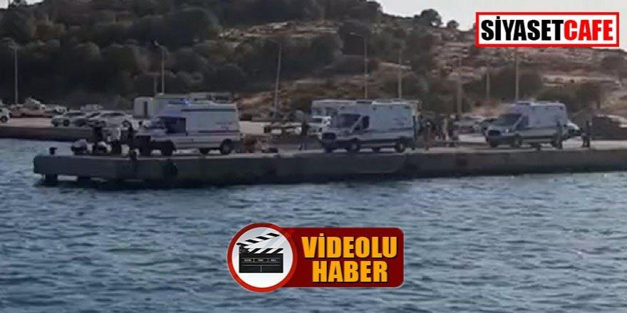 Foça'da tekne battı: 4 ölü!