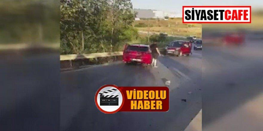5 otomobil Silivri'de kaza yaptı: 18 yaralı!