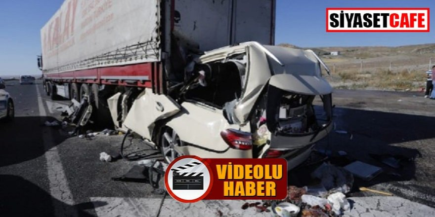 Kahreden kaza: Gurbetçi aileden 5 kişi öldü!