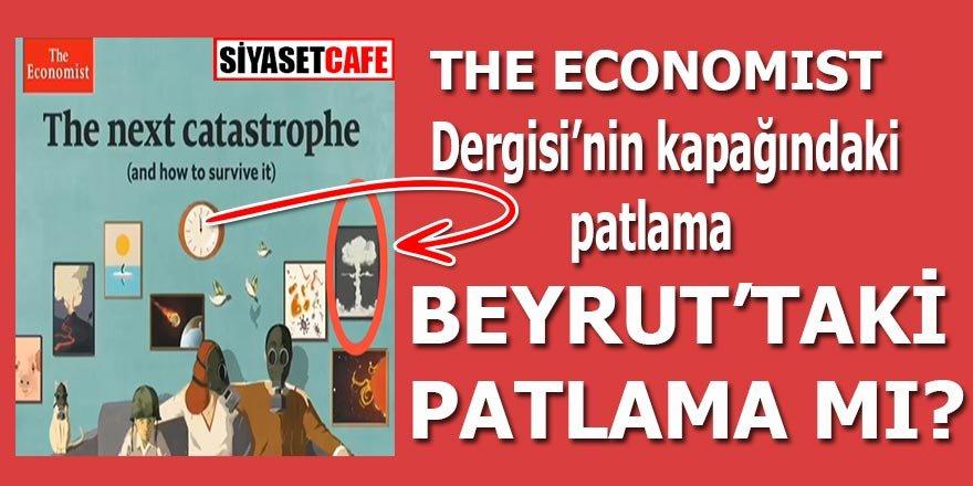 The Economist Dergisi'nin kapağındaki patlama Beyrut'taki patlama mı?