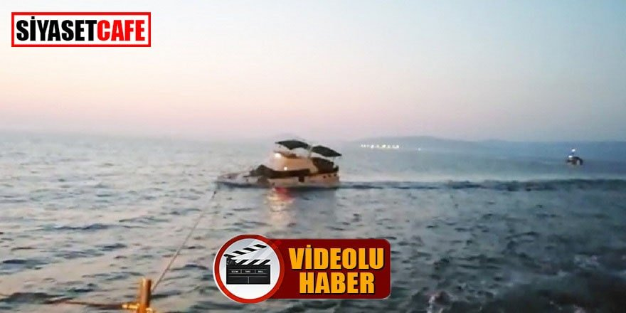 Yunanlıların ateş ettiği tekne işte böyle battı