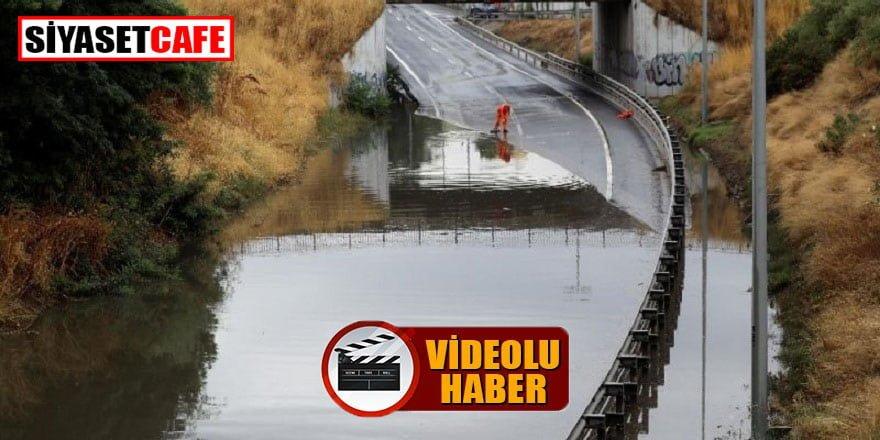 İspanya'nın birçok şehrinde dolu ve fırtına etkili oldu