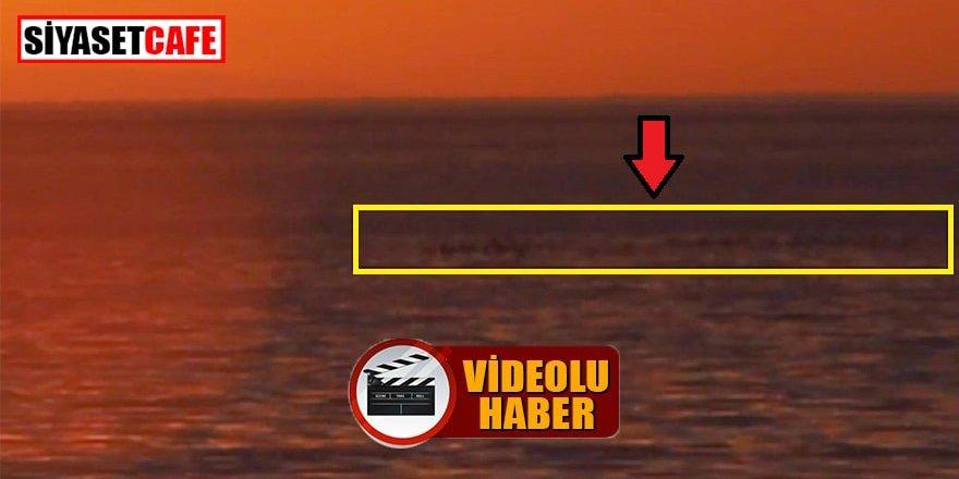 Günün polemiği: Van Gölü Canavarı kameraya mı takıldı?
