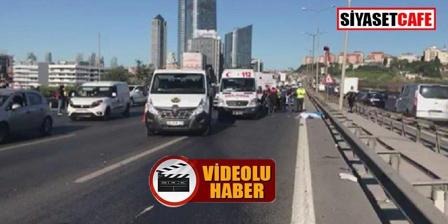 Tem'de motosikletli kaza: 2 ölü!