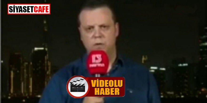 Muhabir canlı yayında bayıldı, spiker ne yapacağını şaşırdı