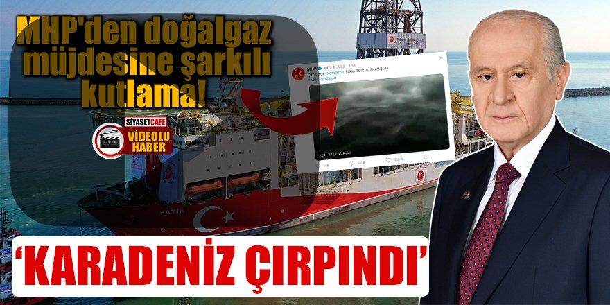 MHP'den doğalgaz müjdesine şarkılı kutlama!