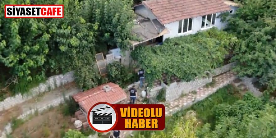 Bursa'da drone ile narkotik operasyonu