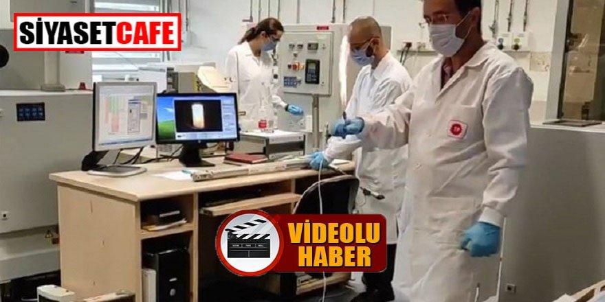 Karadeniz gazına ilk test