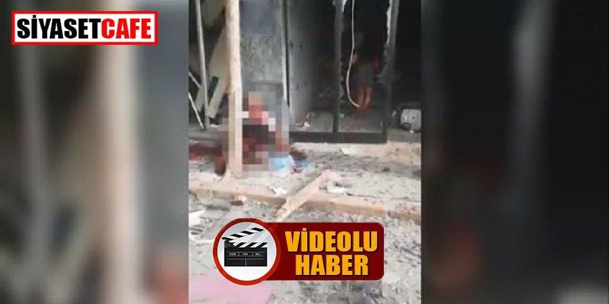 Lübnan'daki patlamanın yeni görüntüleri ortaya çıktı