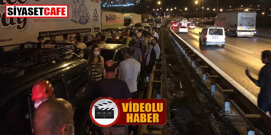TEM'de 28 araçlık zincirleme trafik kazası