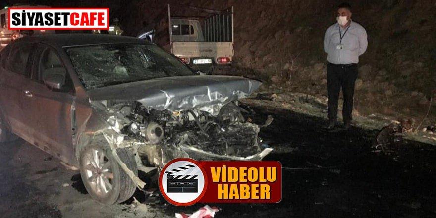 Gaziantep'te korkunç kaza: 4 ölü, 9 yaralı!