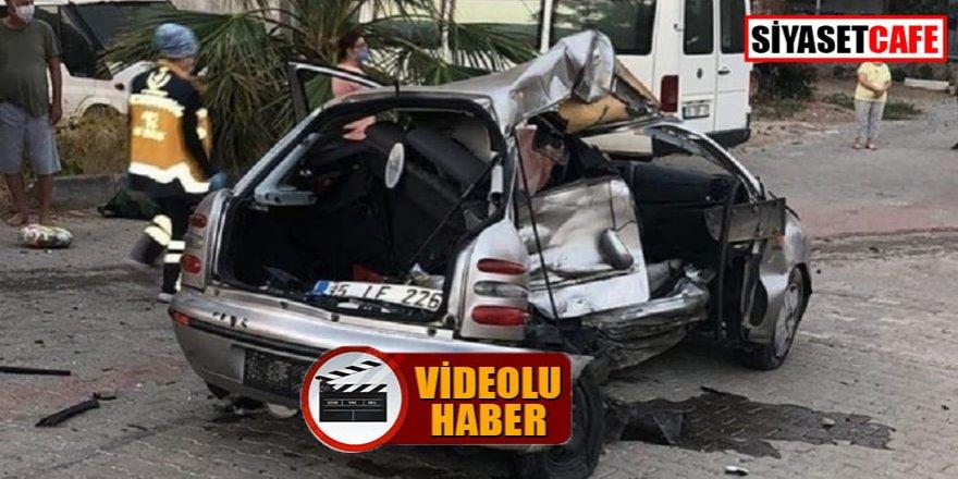 İzmir'de ara sokakta 2 ölümlü kaza