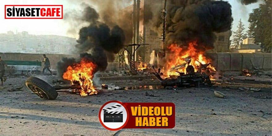 Afrin'de büyük patlama