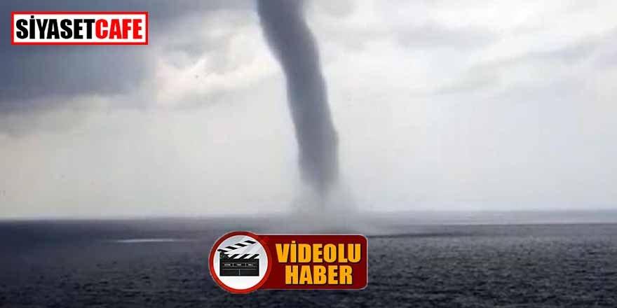 Antalya'da hortum paniği!