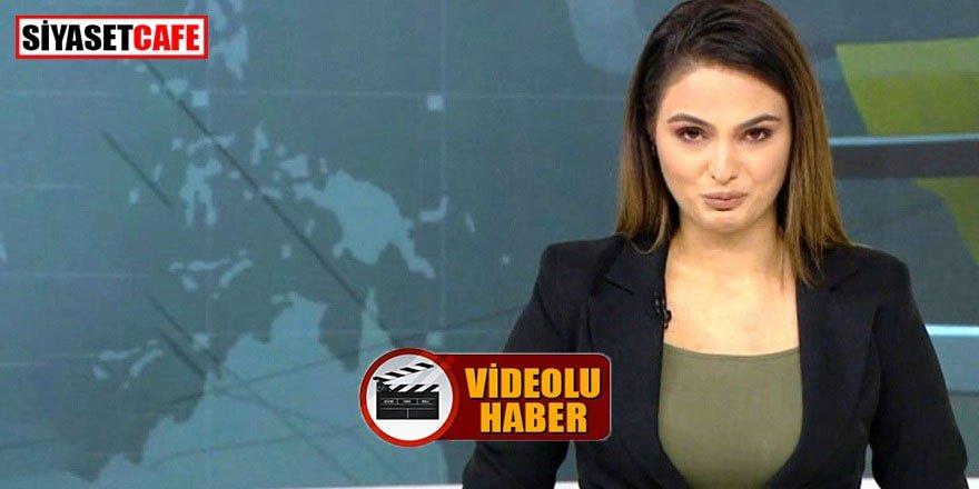 Azerbaycanlı spiker müjdeyi gözyaşları içinde verdi