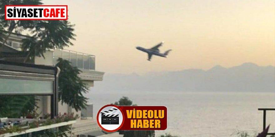 Antalya'da Rus pilotlardan tacizkâr sorti
