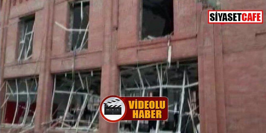 Ermenistan bu sefer de AVM'ye füze ile saldırdı