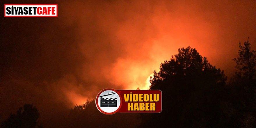 Kastamonu'daki yangın yerleşim yerlerini tehdit etmeye başladı